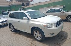 Super Clean Naija Used Toyota Highlander 2010 Model