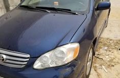 Very Clean Nigerian Used Toyota Corolla 2004 Model