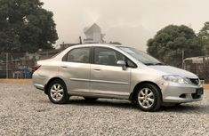 Nigeria Used Honda City 2008 Model Silver