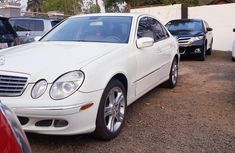 Tokunbo Mercedes-Benz E350 2008 Model White