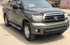 Foreign Used Toyota Tundra 2012 Model Gray