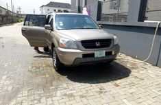 Nigeria Used Honda Pilot 2005 Model Gold