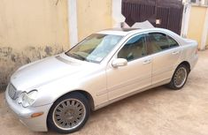 Nigeria Used Mercedes-Benz C240 2004 Model Silver