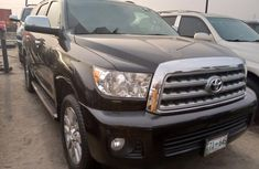 Foreign Used Toyota Sequoia 2012 Model Black