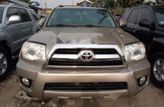 Foreign Used Toyota 4-Runner 2008 Model Gold