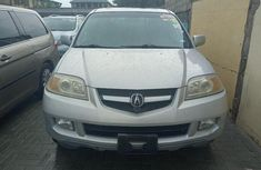 Foreign Used Acura MDX 2004 Model Silver