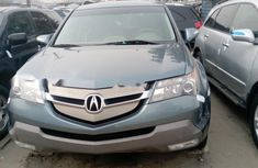 Foreign Used Acura MDX 2008 Model Blue