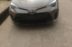 Foreign Used Toyota Corolla 2017 Model Brown