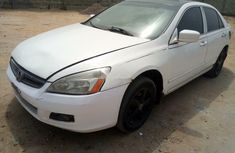 Nigeria Used Honda Accord 2004 Model White