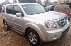 Foreign Used Honda Pilot 2010 Model Silver