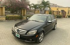 Nigeria Used Mercedes-Benz C300 2009 Model Blue