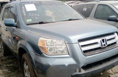 Foreign Used Honda Pilot 2006 Model Gray