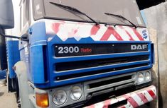 Foreign Used DAF 2560 2000 Model Blue