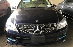 Foreign Used Mercedes Benz C300 2008 Model Upgraded to 2012 Model