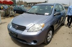 Foreign Used Toyota Matrix 2006 Model Blue