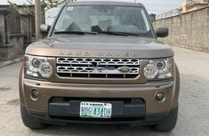 Nigeria Used Land Rover LR4 2013 Model Gold