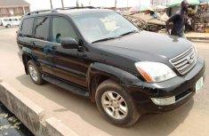 Nigeria Used Lexus GX 2006 Model Black