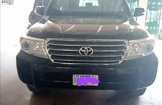 Nigeria Used Toyota Land Cruiser 2014 Model Black