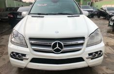 Foreign Used Mercedes-Benz GL450 2010 Model White