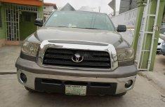 Nigeria Used Toyota Tundra 2007 Model Gray