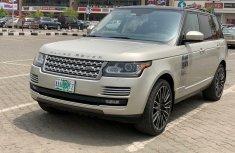 Nigeria Used Land Rover Range Rover Vogue 2014 Model Beige