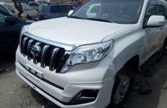 Foreign Used Toyota Land Cruiser Prado 2016 Model White