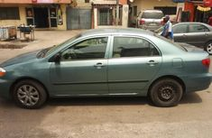 Foreign Used Toyota Corolla 2004 Model Green