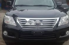 Foreign Used Lexus LX 2009 Model Black