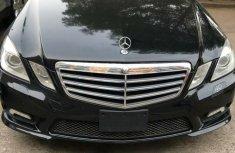 Tokunbo Mercedes-Benz E550 2011 Model Black