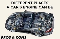 The 3 engine positions in a car: Pros & cons