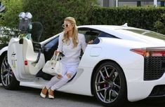 Paris Hilton's former Lexus LFA to be sold for ₦180.4 million