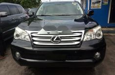 Foreign Used Lexus GX 2012 Model Black