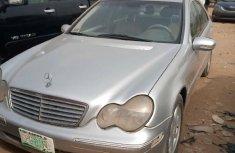 Nigeria Used Mercedes-Benz C240 2003 Model Silver