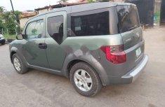 Nigeria Used Honda Element 2004 Model Green