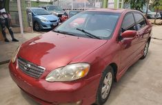 Well Maintained Naija Used Toyota Corolla 2005 Model