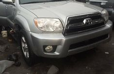 Foreign Used Toyota 4-Runner 2007 Model Silver