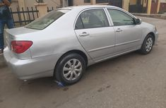 Nigeria Used Toyota Corolla 2007 Model Silver