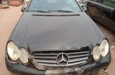 Nigeria Used Mercedes-Benz CLK 2005 Model Gray