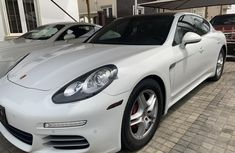 Nigeria Used Porsche Panamera 2015 Model White