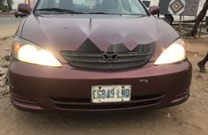 Nigeria Used Toyota Camry 2002 Model Red