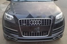 Foreign Used Audi Q7 2010 Model Black
