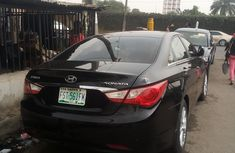 Nigeria Used Hyundai Sonata 2011 Model Black for Sale