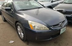 Nigeria Used Honda Accord 2004 Model Gray