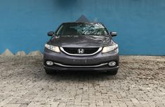Foreign Used Honda Civic 2015 Model Gray