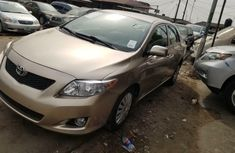 Foreign Used Toyota Corolla 2008 Model Gold