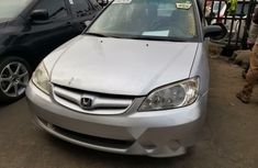 Foreign Used Honda Civic 2005 Model Silver