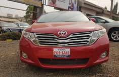 Foreign Used Toyota Venza 2011 Model Red