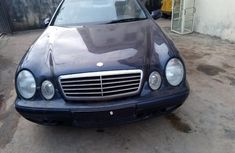 Foreign Used Mercedes-Benz CLK 1999 Model Blue