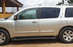 Nigeria Used Nissan Armada 205 Model Silver