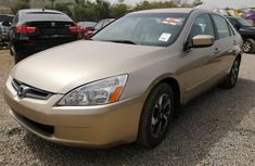 Foreign Used Honda Accord 2006 Model Gold
